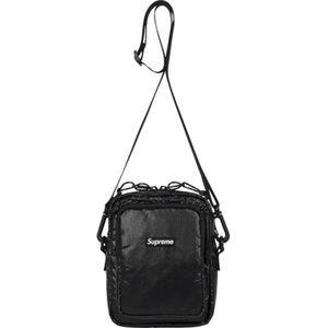 VINTAGE SUPREME SUPERFLY SHOULDER BAG IN BLACK